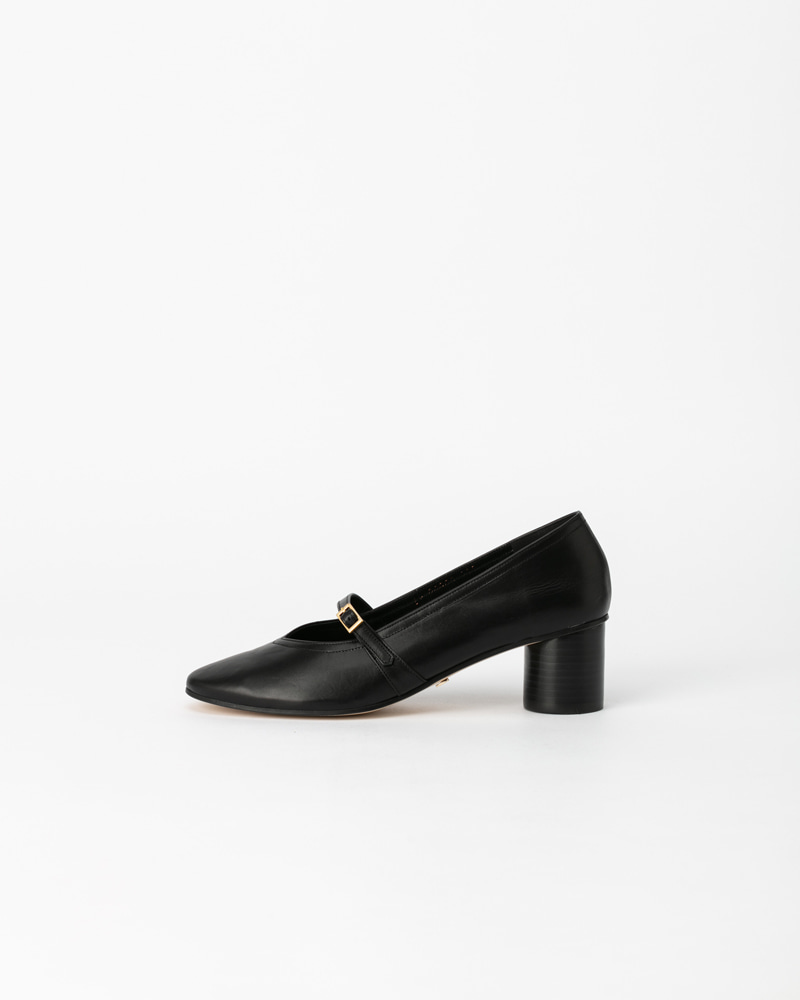 Felice Pumps in Black Calf