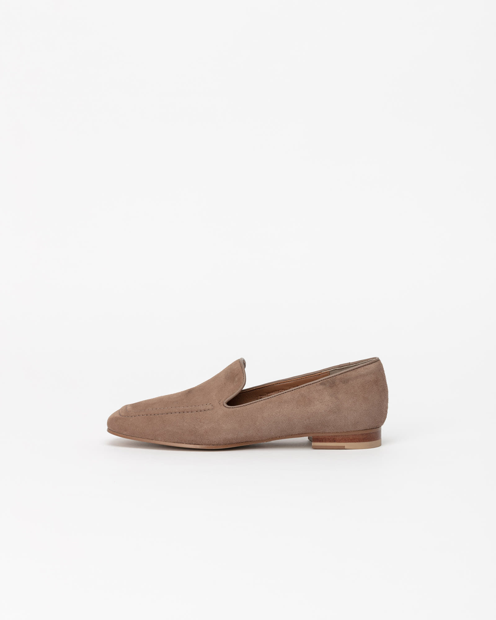 Buffon Slip-on Loafers in Cocoa Suede