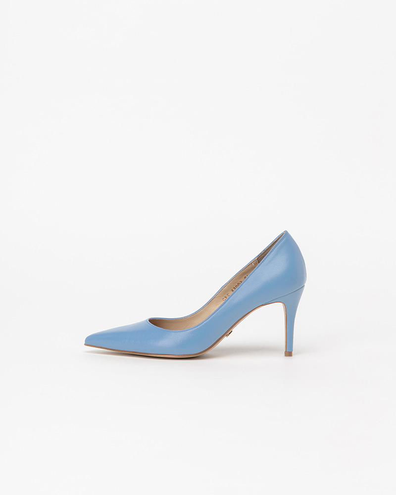 Chauffeur Stilletto Pumps in Maya Blue