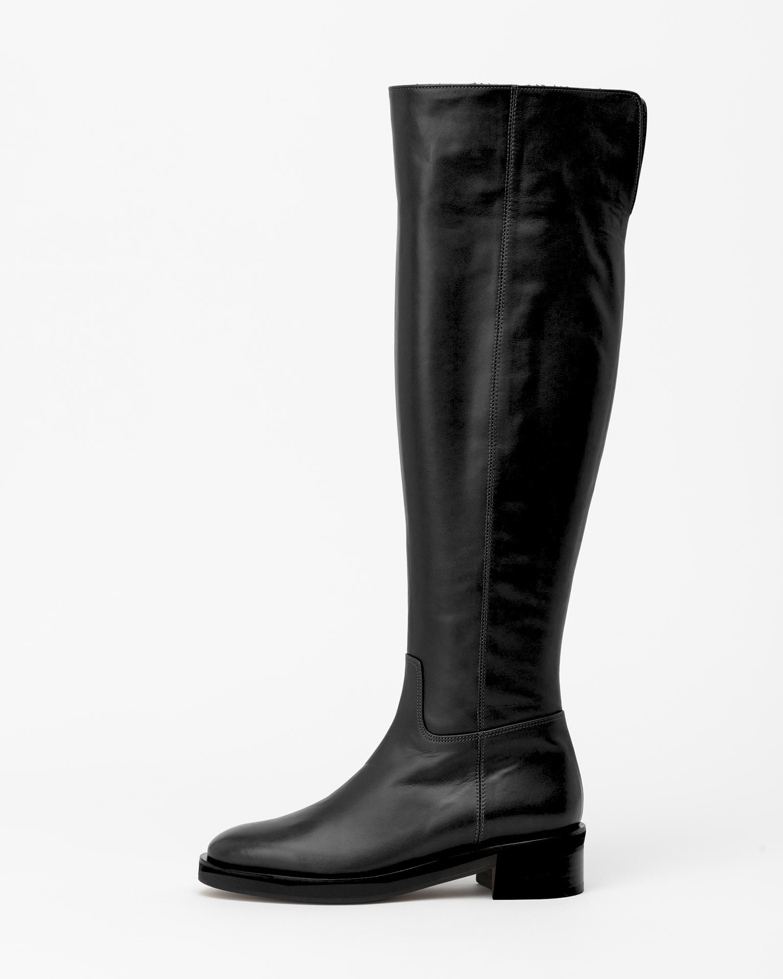 Lisee Wool Lining Boots in Black