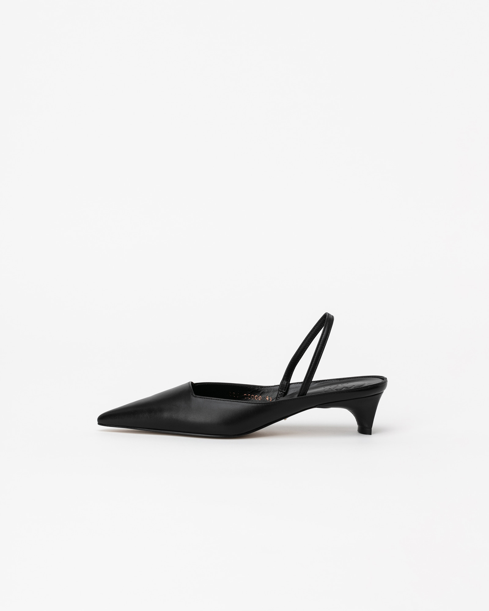 Contana Slingbacks in Black