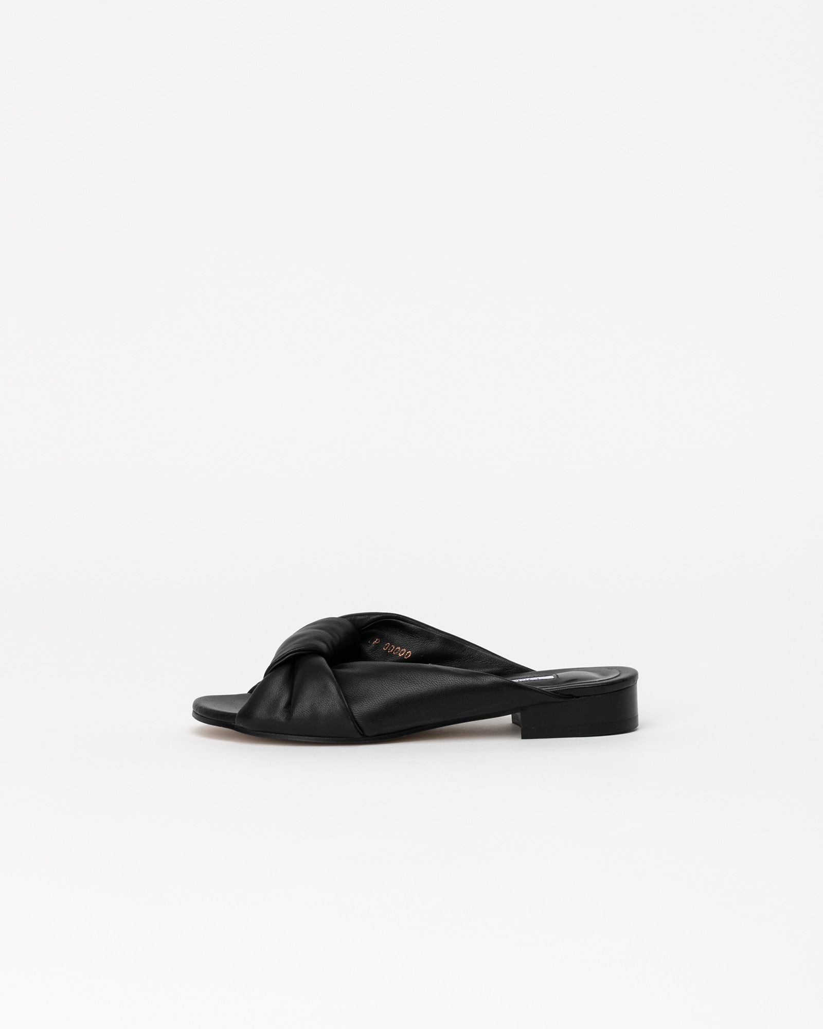 Cenon Super Soft Slides in Black