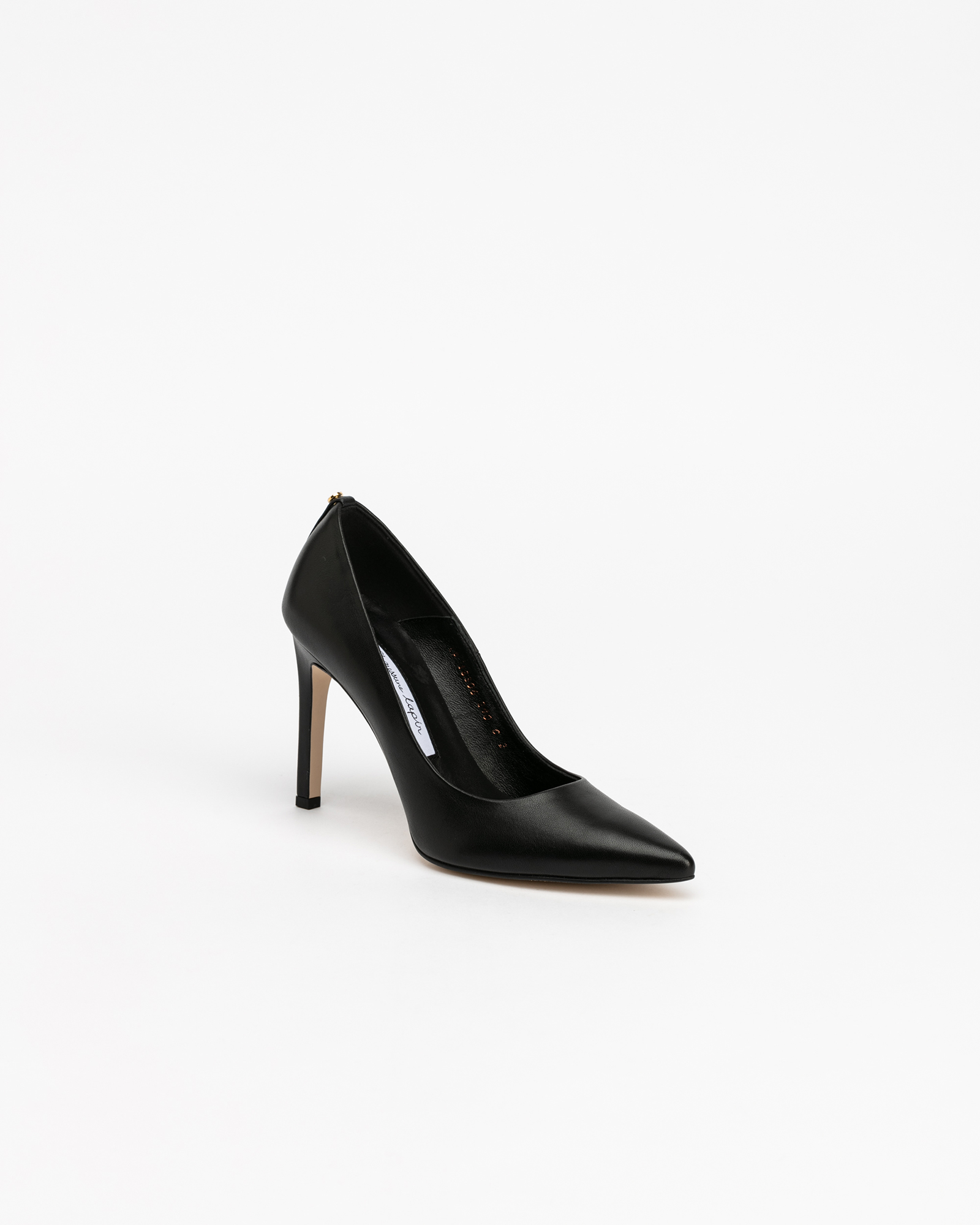 Boulon Pumps in Regular Black