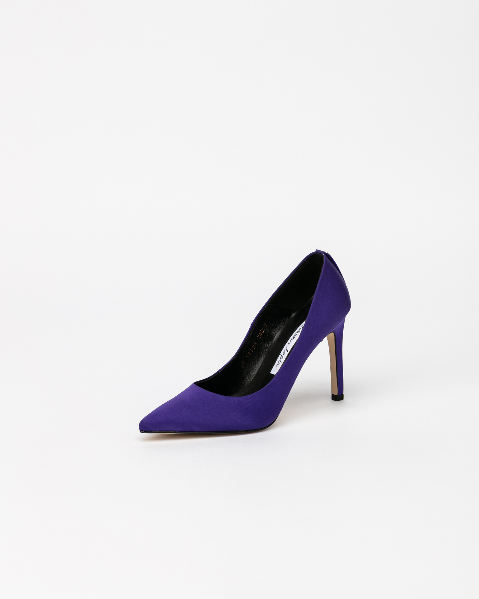 Boulon Stiletto Pumps in Cobalt Satin