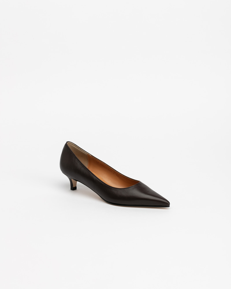Philo Pumps in Dark Brown