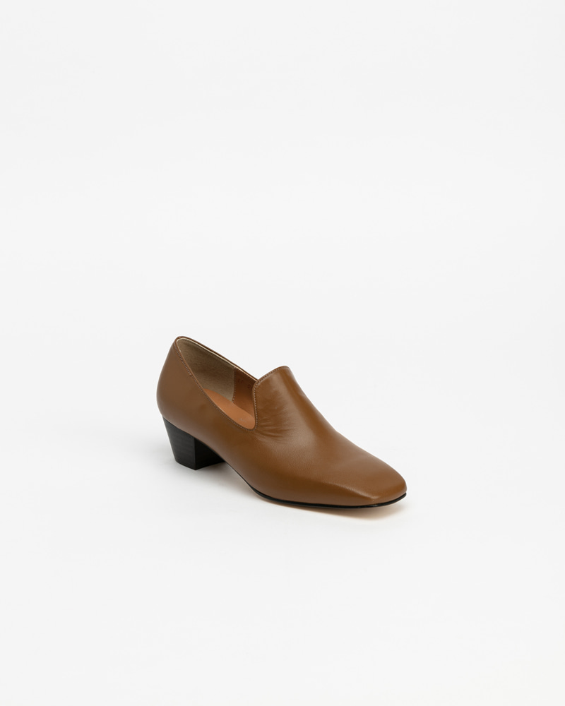Ailey Slip-on Pumps in Olive Beige