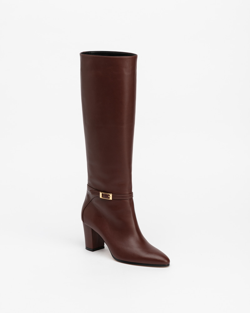 Rina Boots in Iron Brown