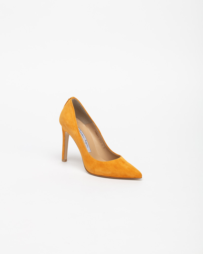 Boulon Stiletto Pumps in Marmalade Suede