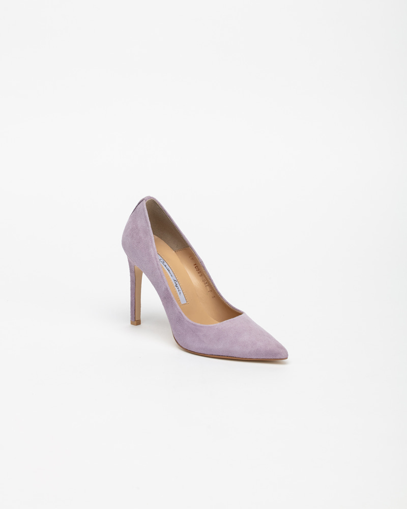 Boulon Stiletto  Pumps in Lavender Suede