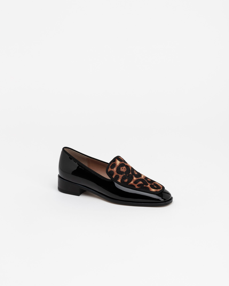 Cecil Calf Hair Loafers in Leopard