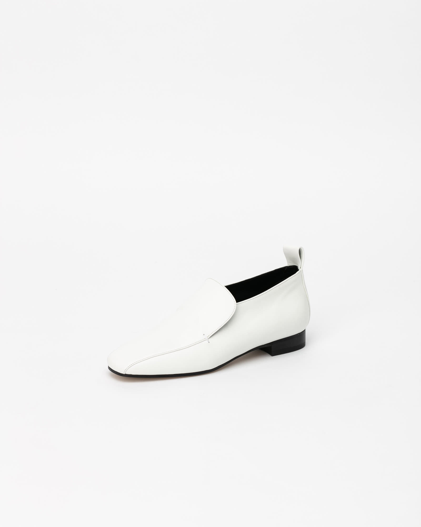 Palais Slip-on Loafers in Pure White