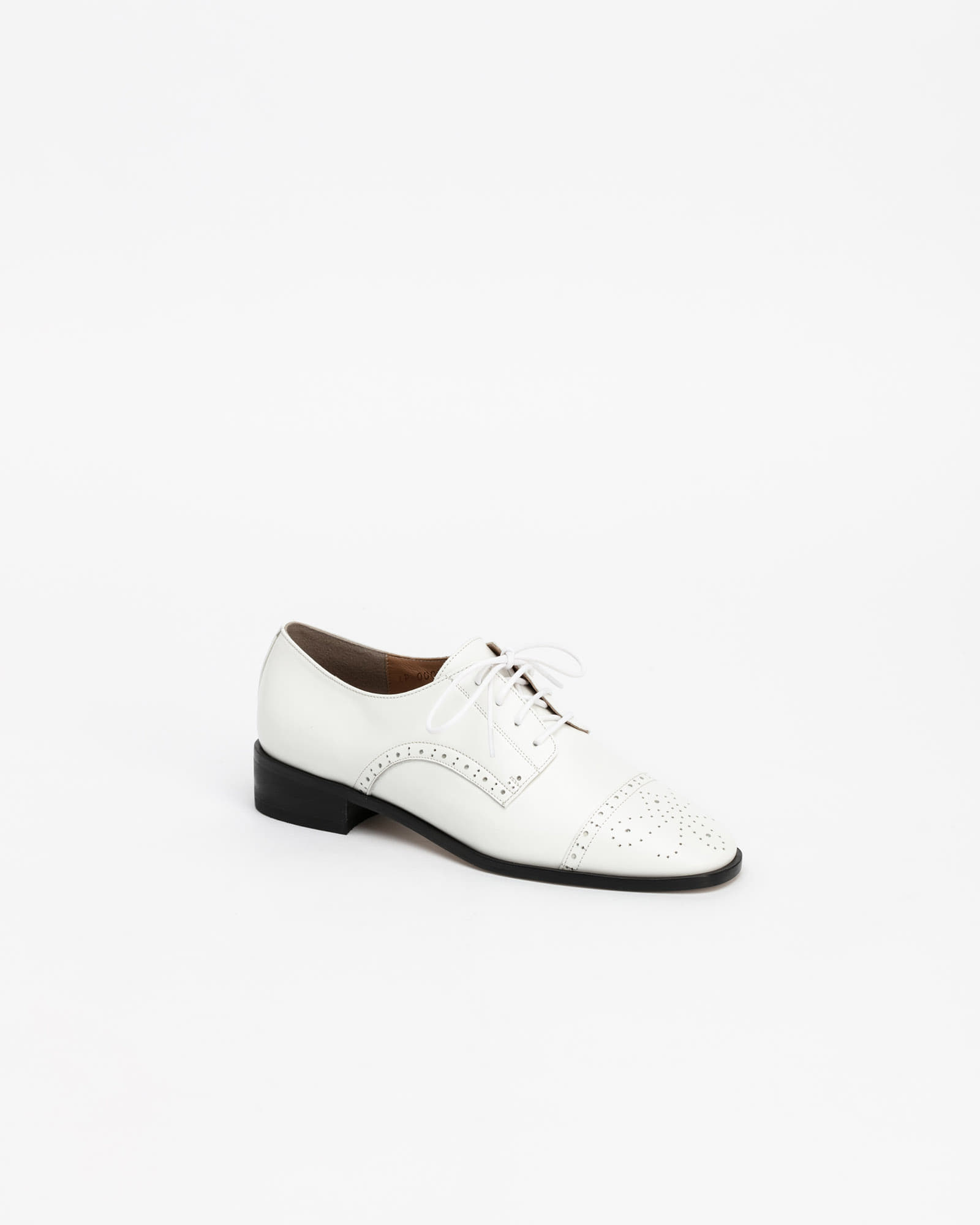 Joanne Oxford Loafers in White