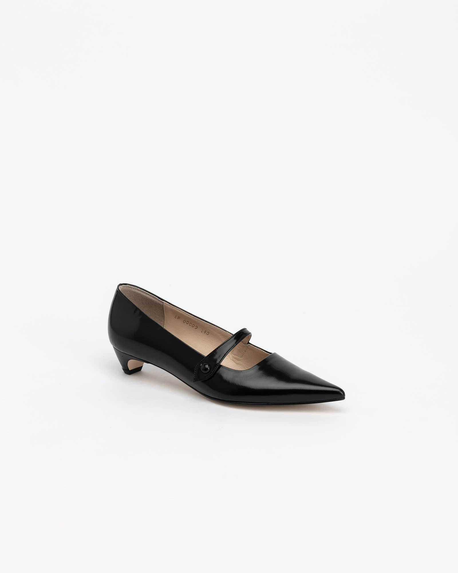 Bavaria Maryjane Shoes in Black Box