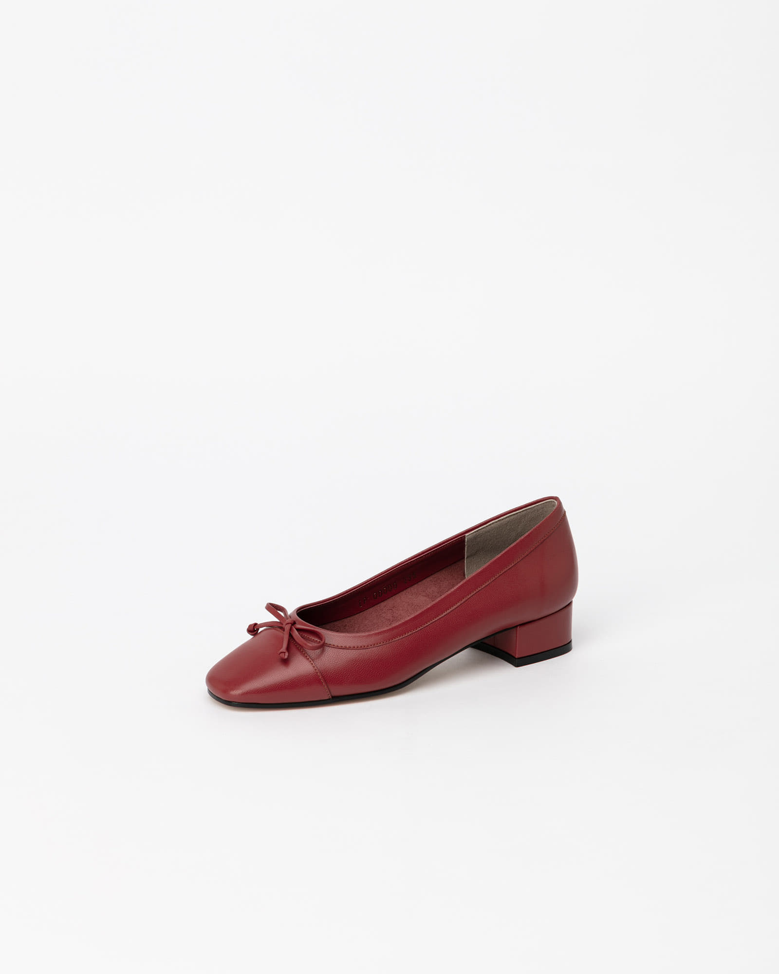 Alice Soft Ballerinas in Ruby Brown