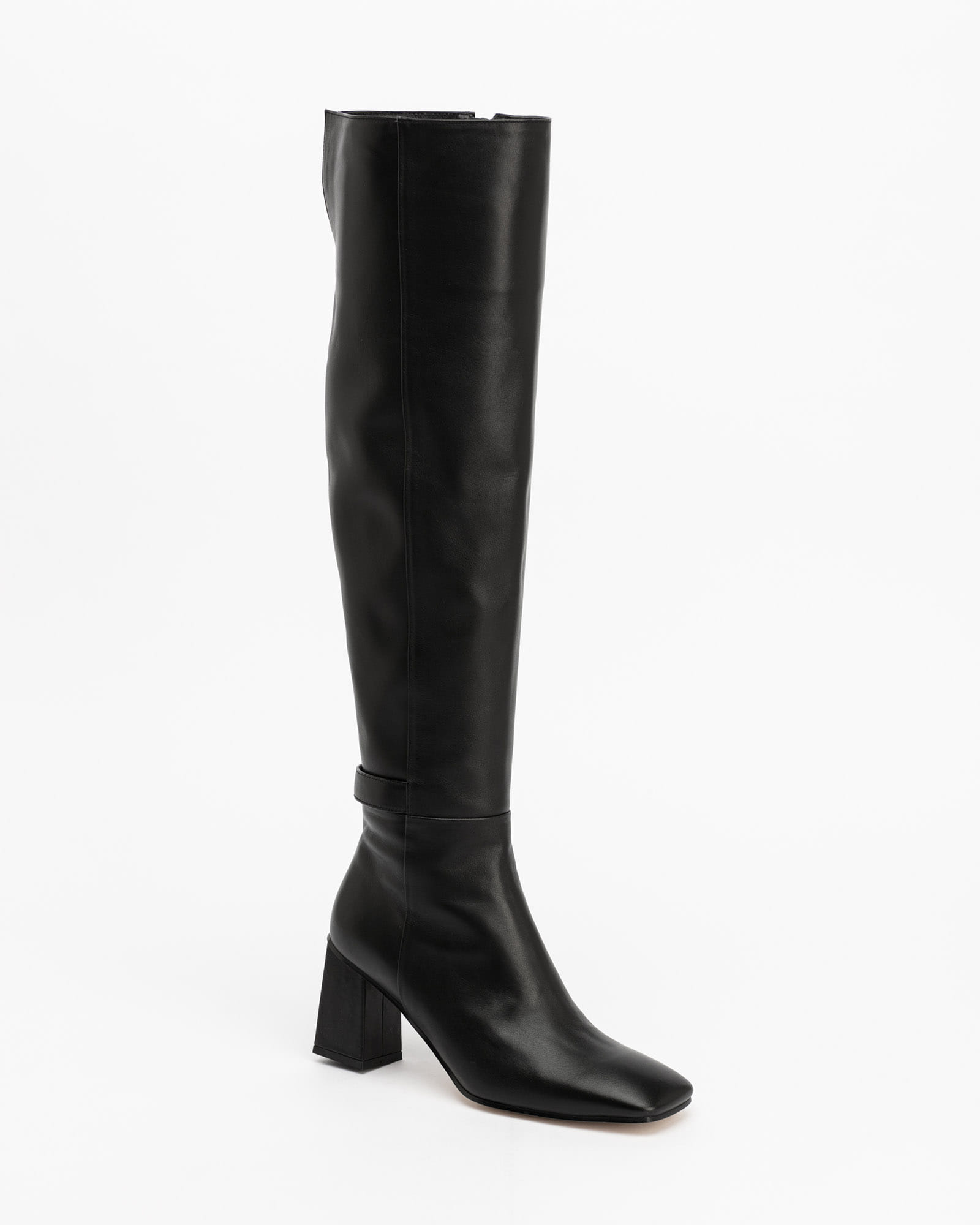 Armure Over-the-Knee Boots in Black