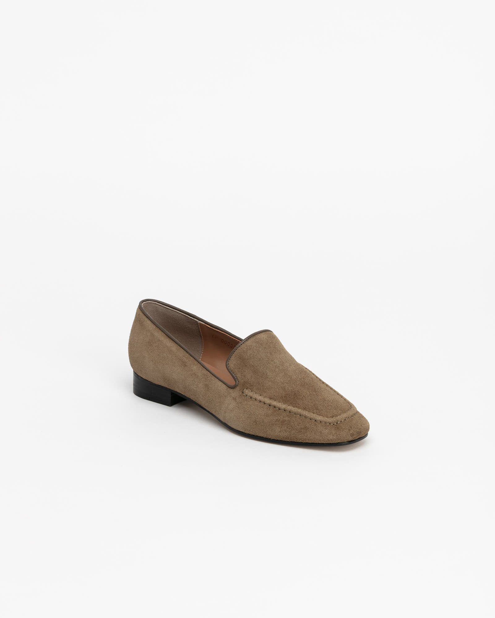 Buffon Slip-on Loafers in Golden Khaki Suede