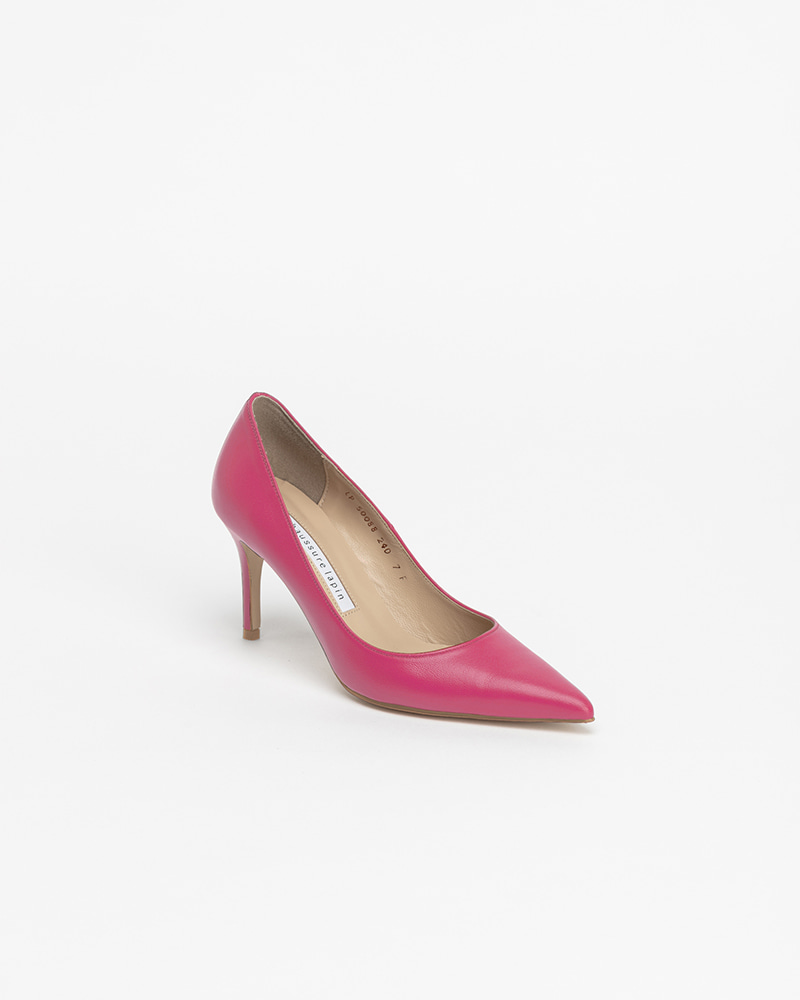 Chauffeur Stilletto Pumps in Rosee Pink