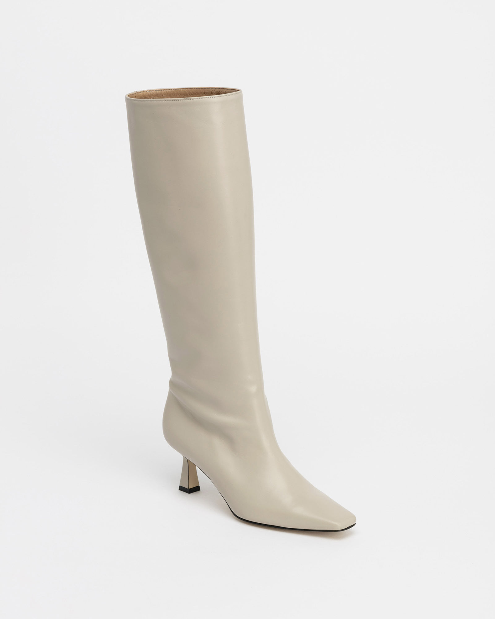 LOB Boots in Taupe Ivory