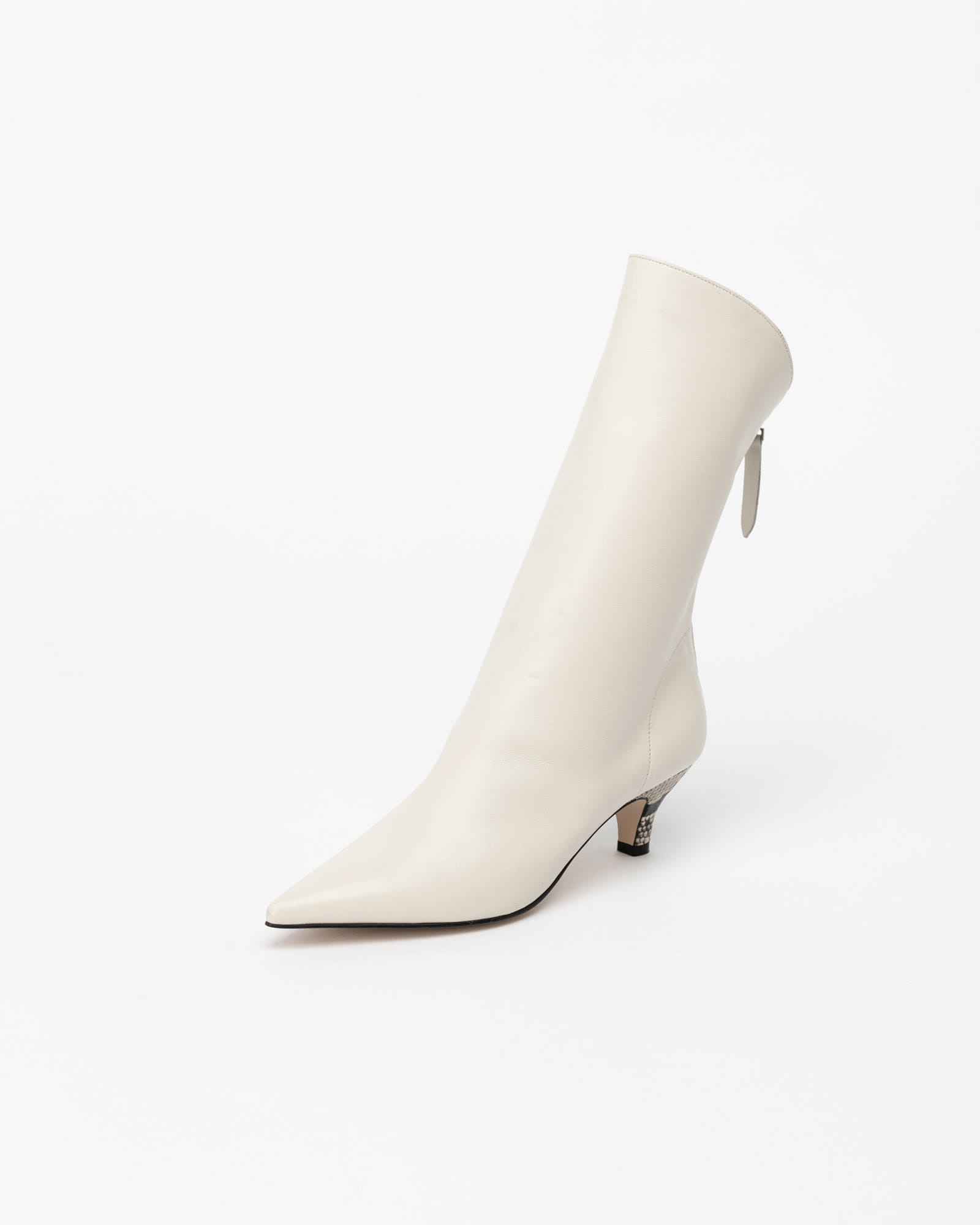 Anglia Soft Boots in Ivory