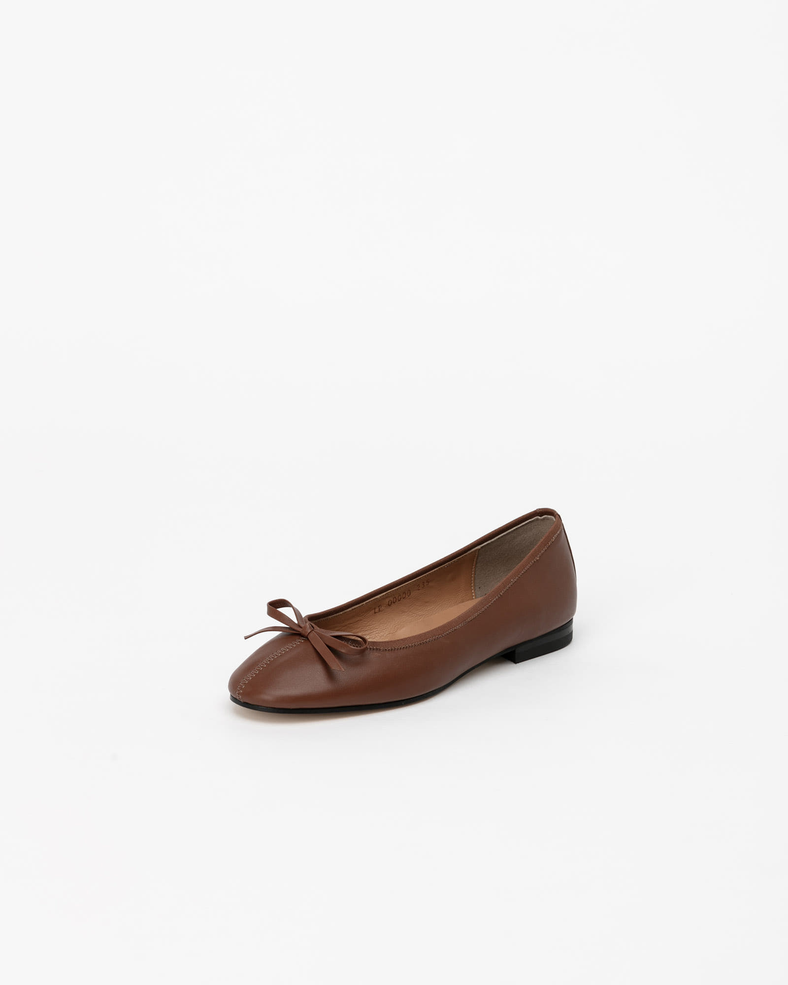 Urbana Flat Shoes in Deep Camel