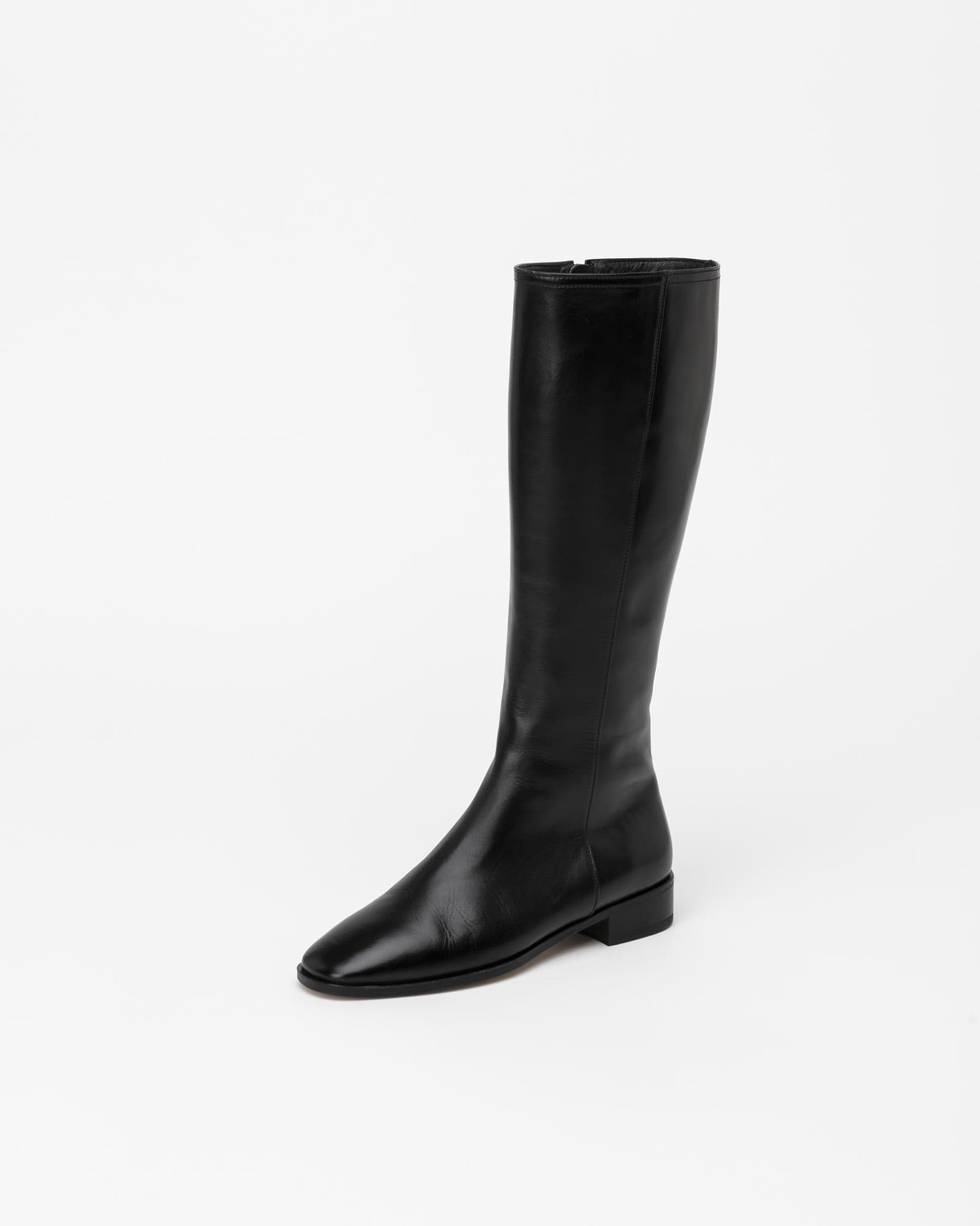 Panache Riding Boots in Textured Black