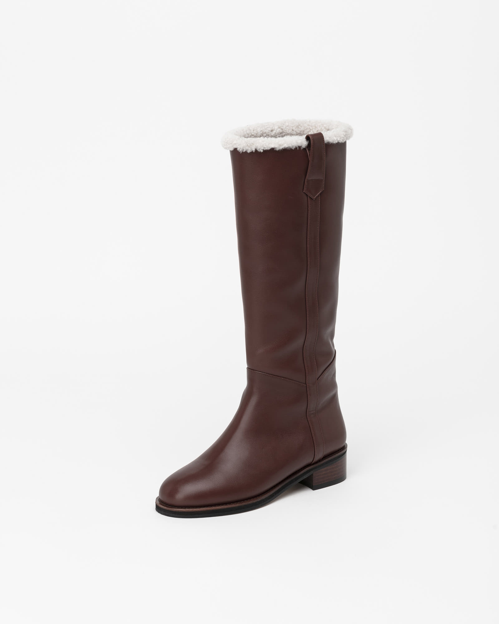 Polaran Fur Lining Boots in Brown