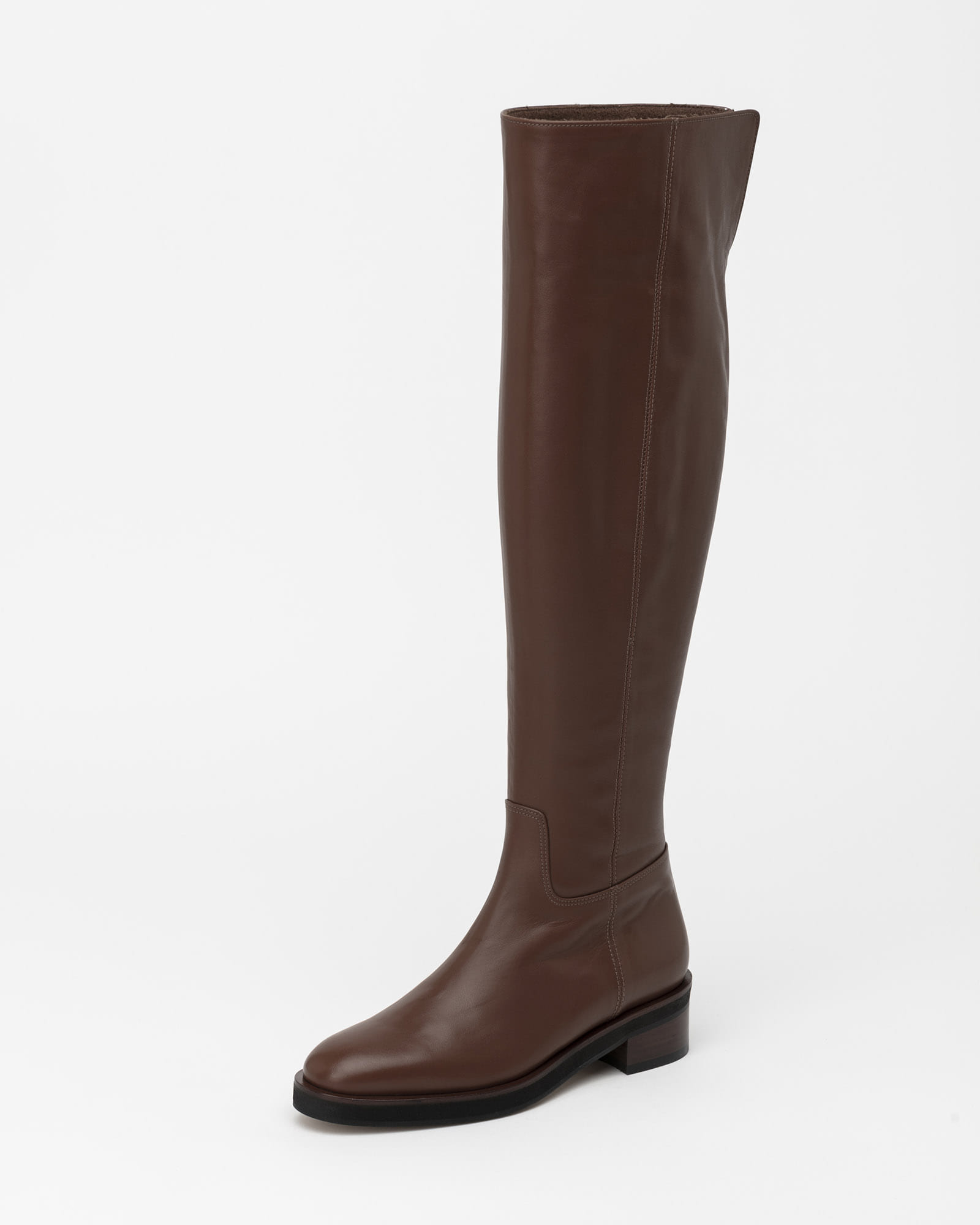Lisee Wool Lining Boots in Deep Camel