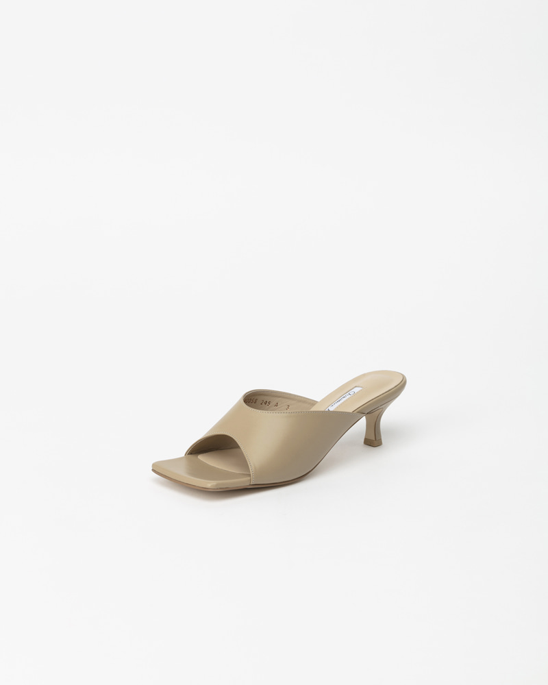 Zoey Mules in Down Beige