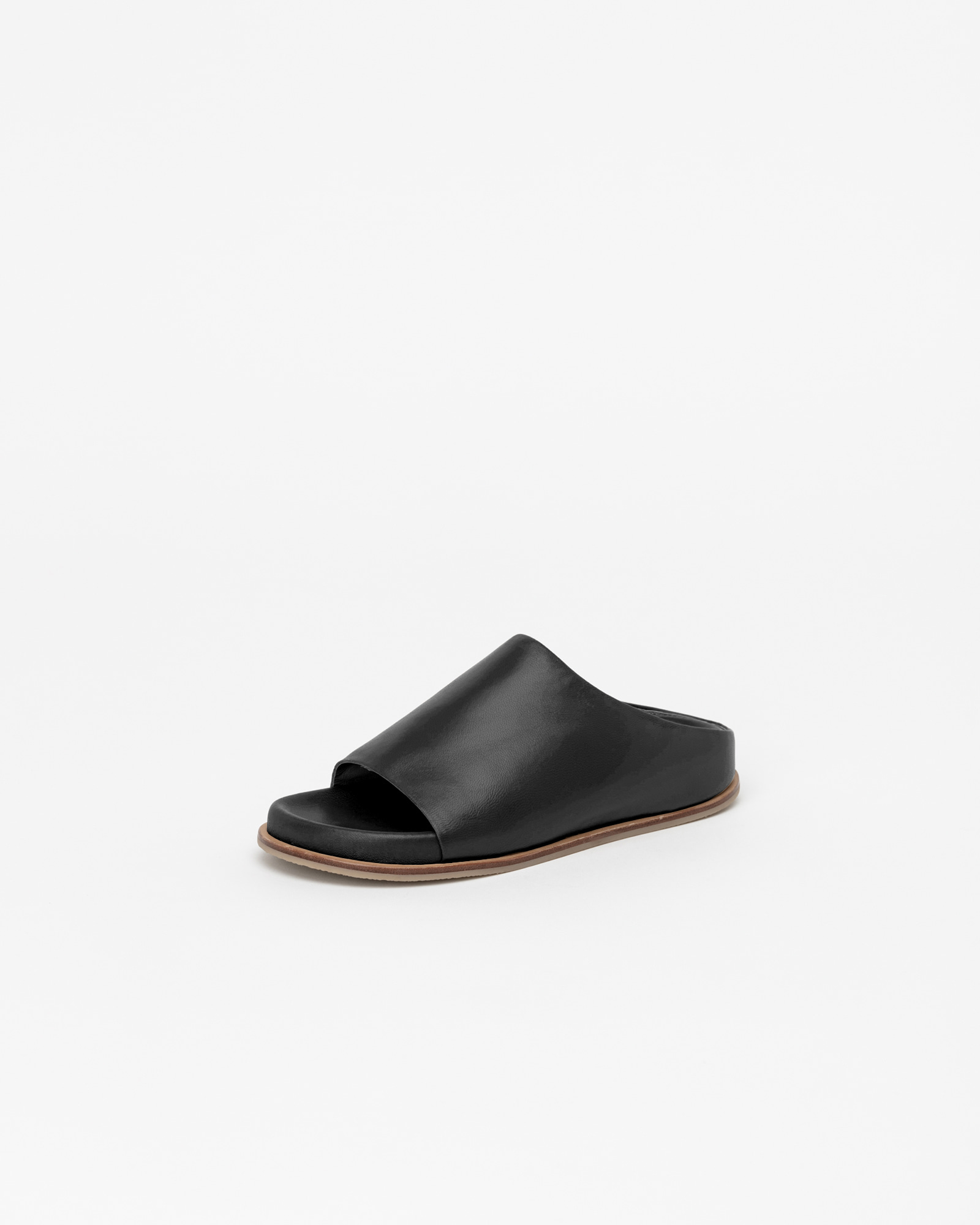 Belmore Super Soft Slides in Black