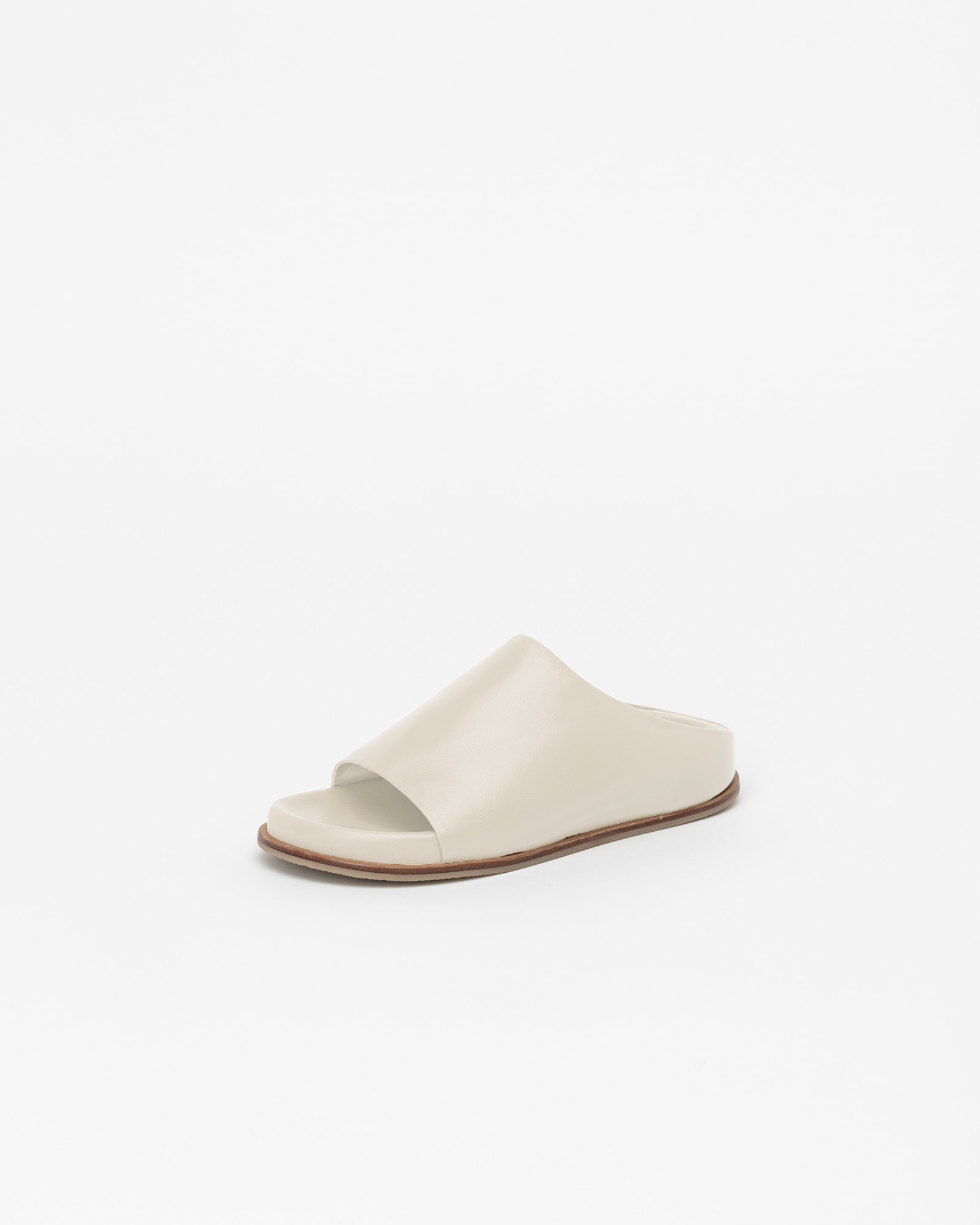 Belmore Super Soft Slides in Ivory