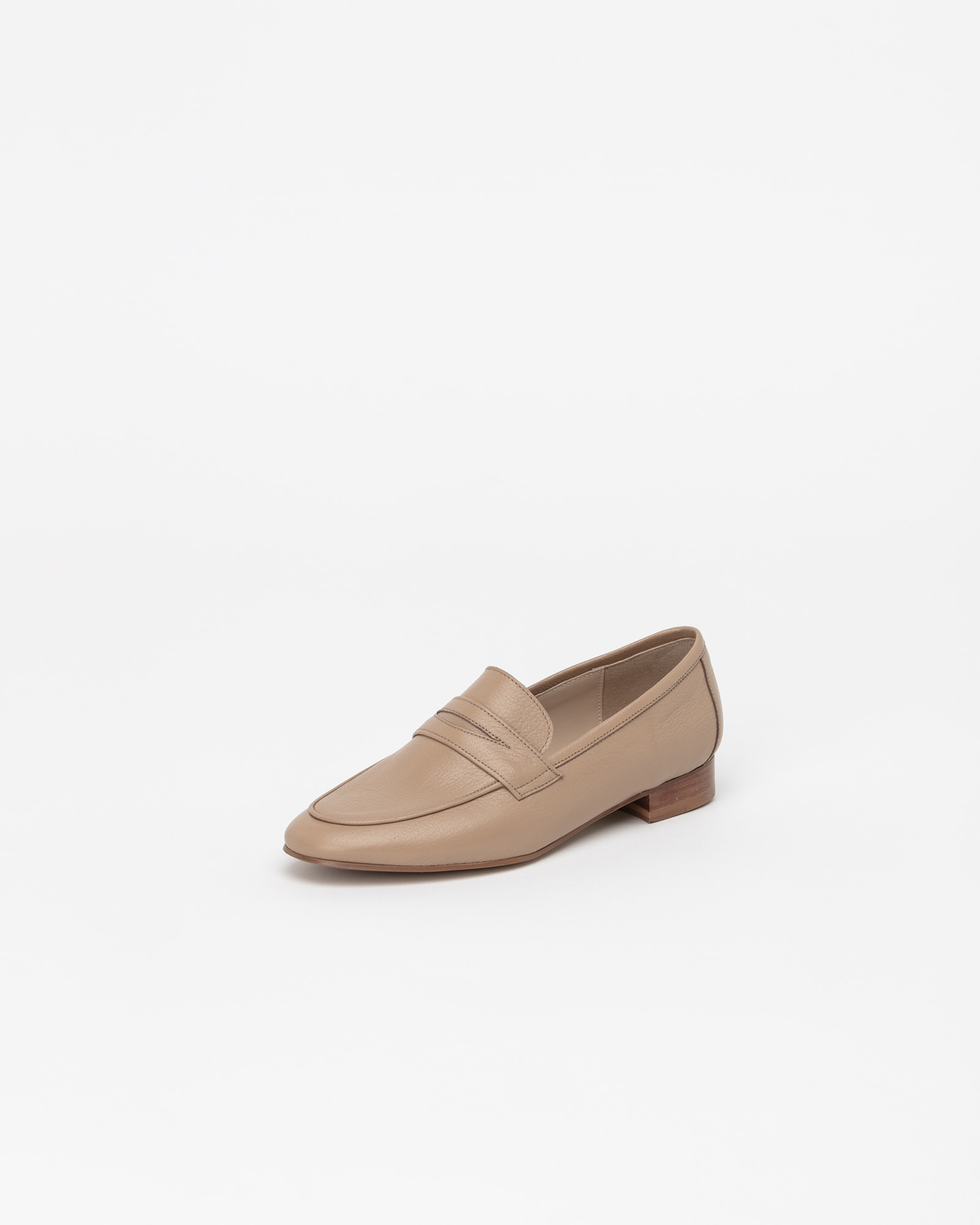 Sante Soft Loafers in Down Yellow Beige