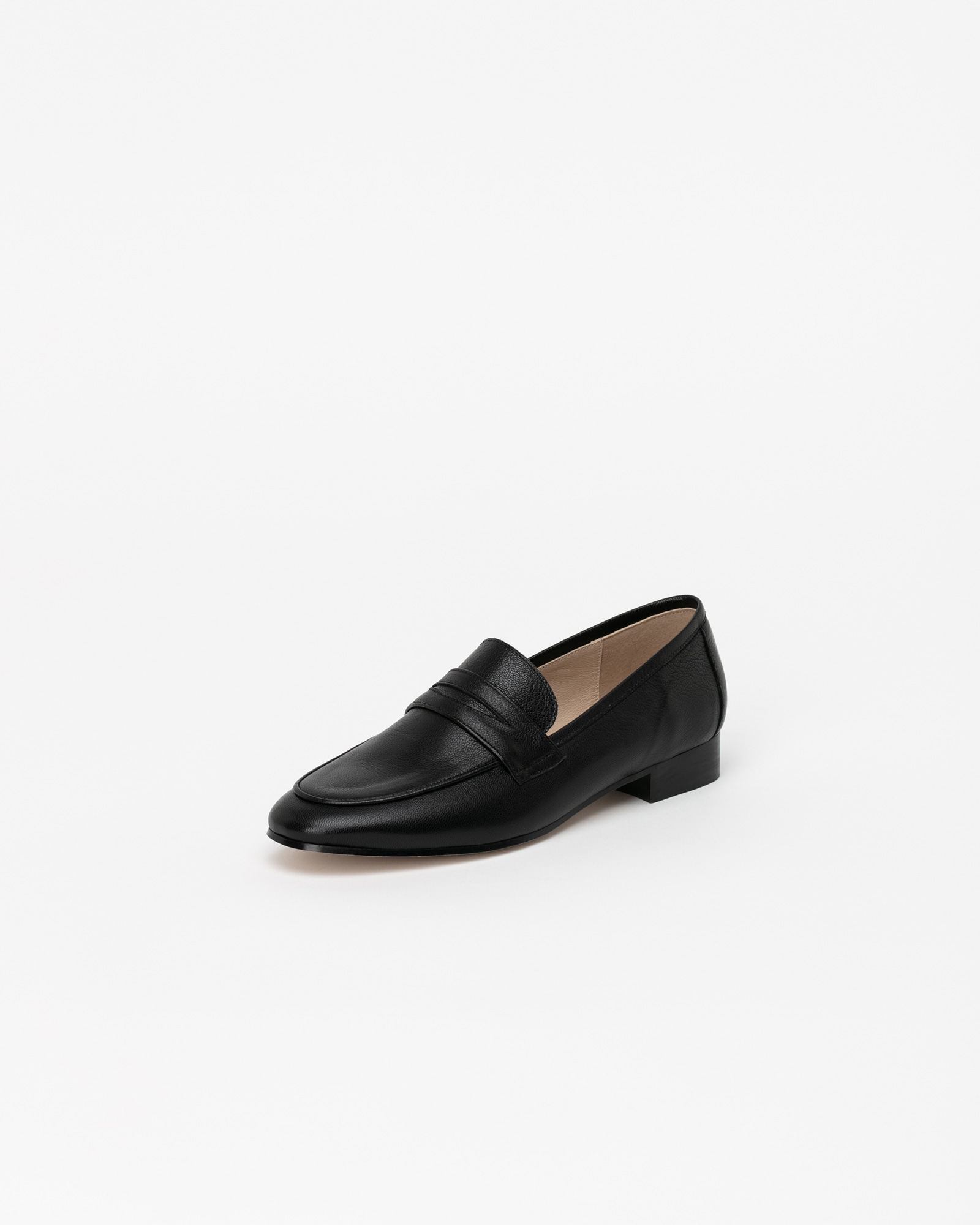 Sante Soft Loafers in Black
