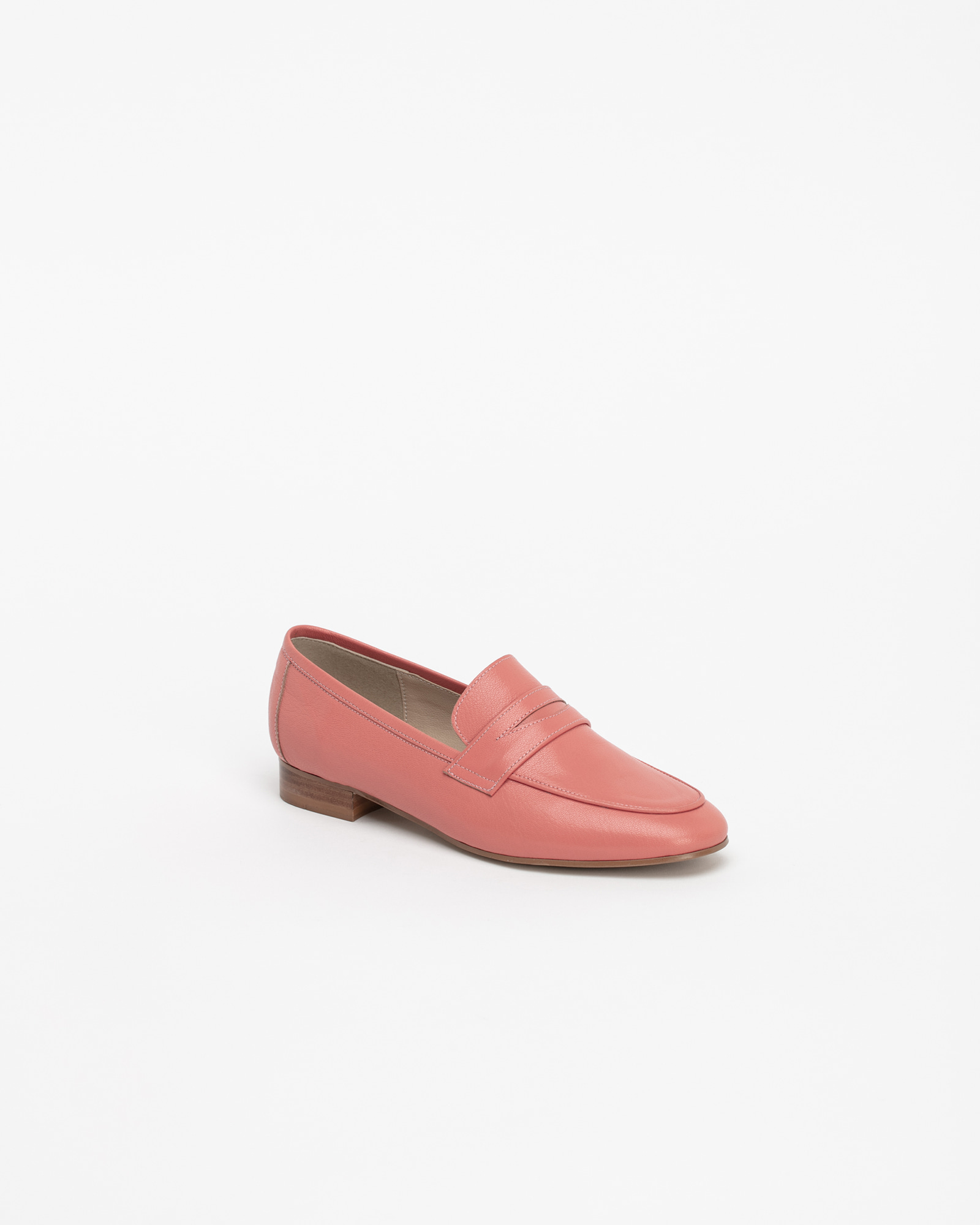 Sante Soft Loafers in Coral Pink