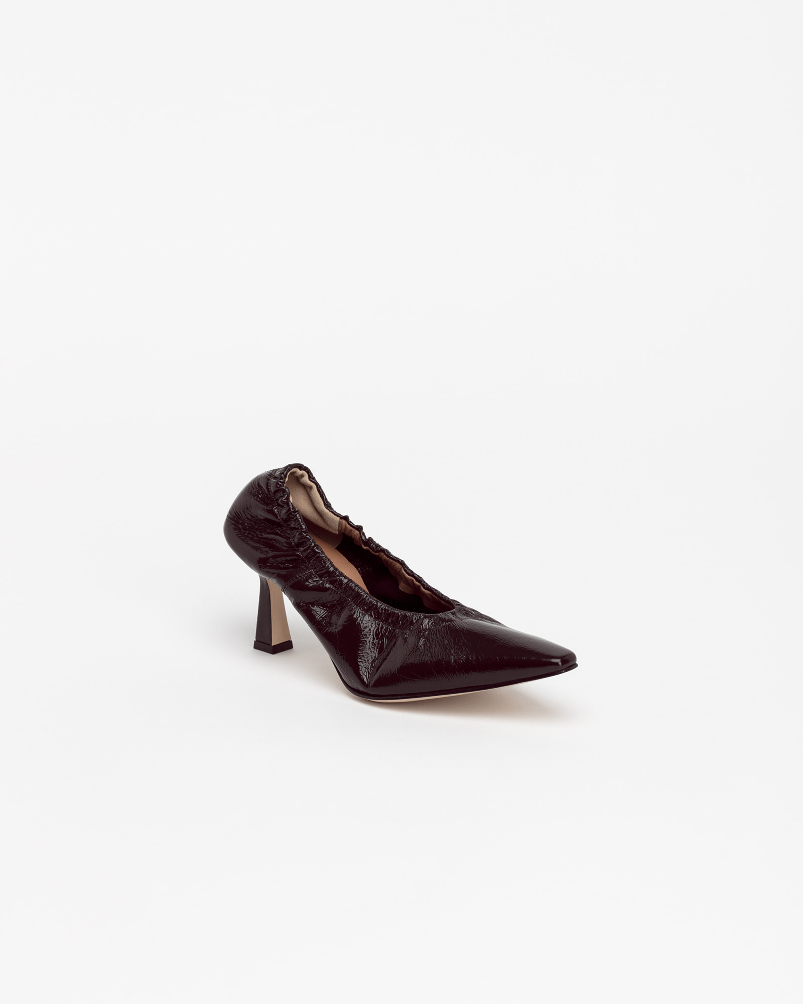 Arnaud Soft Pumps in Wrinkled Brown