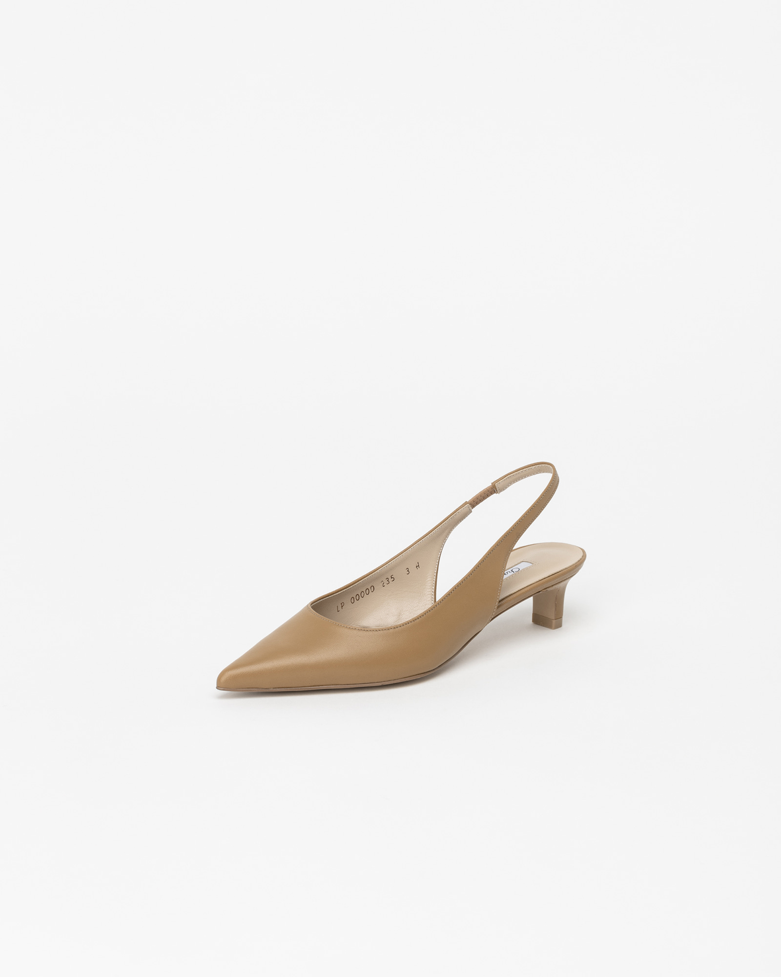 Philo Nouvelle Slingbacks in Mud Brown