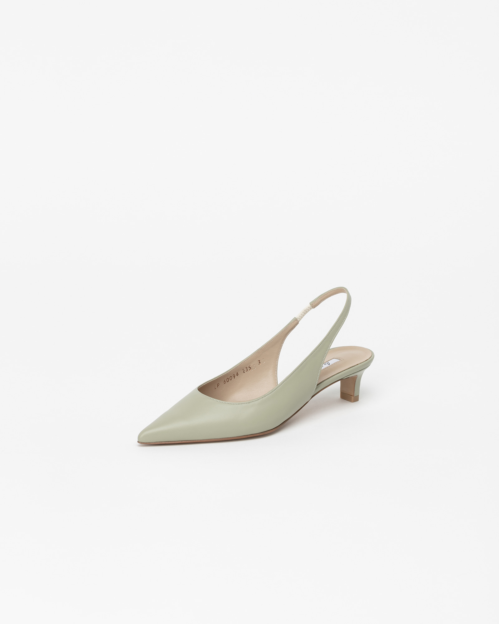 Philo Nouvelle Slingbacks in Lime Green
