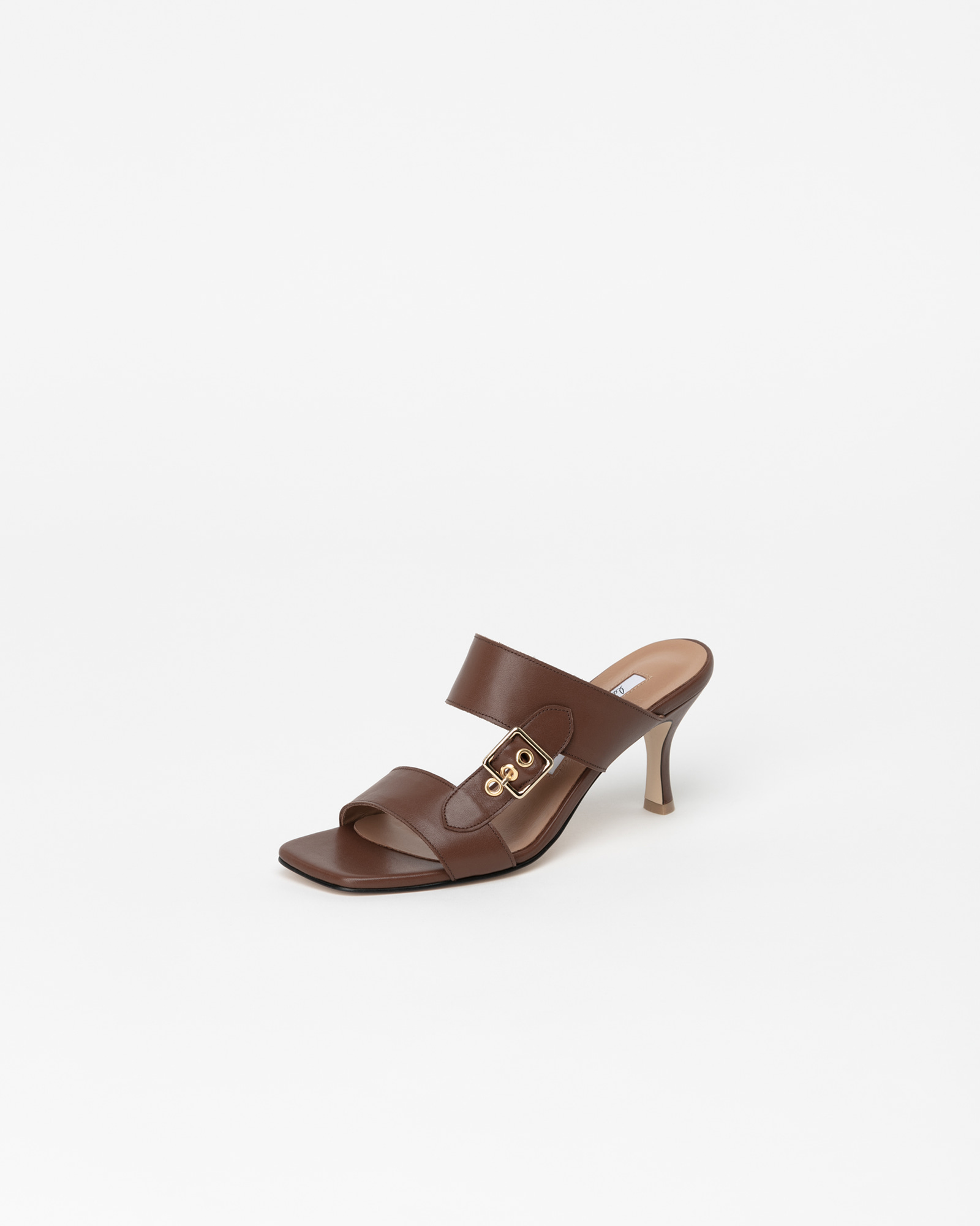 Stefani Mules in Regular Brown