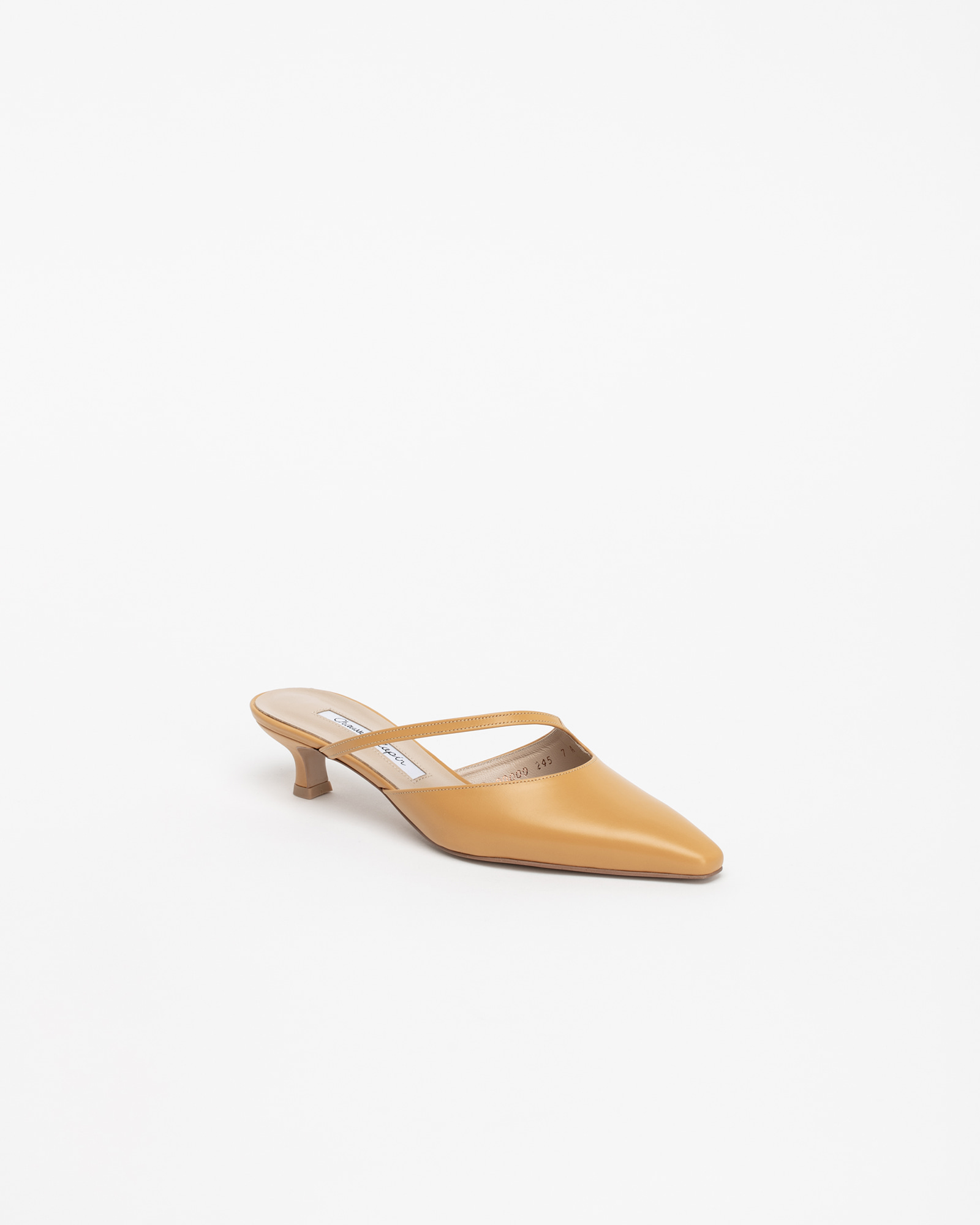 Serenade Mules in Fever Yellow
