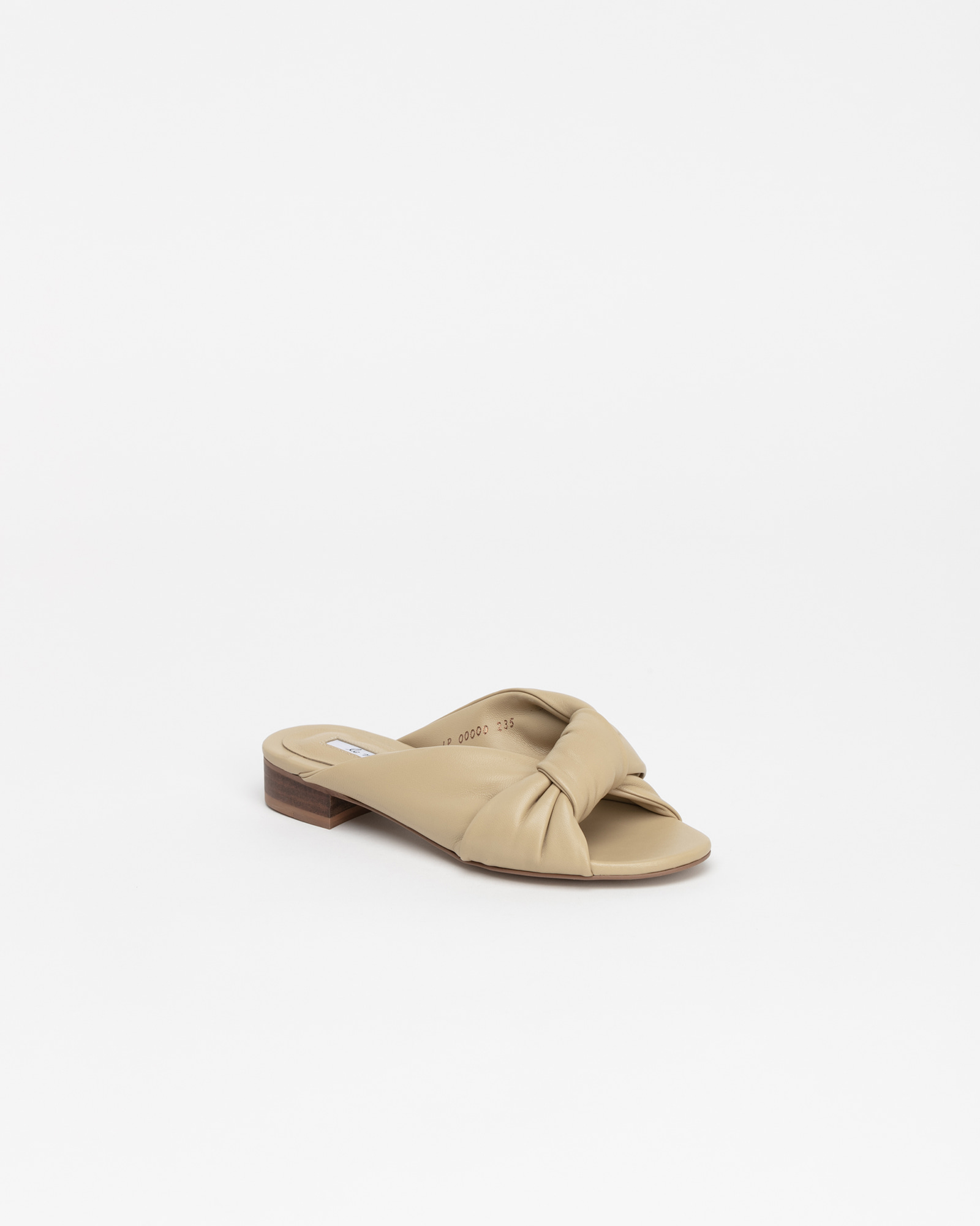 Cenon Super Soft Slides in Crema Beige